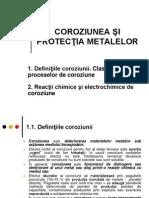 II Curs 1 Var II Clasificare Reactii Coroziune