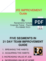 21-Day Life Improvement Guide