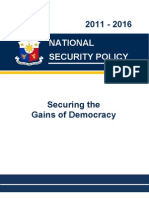 National Security Policy 2011-2016
