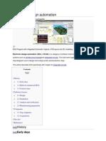 Wikipedia EDA(Electronic Design Automation)
