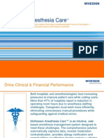 McKesson Anesthesia Care PDF