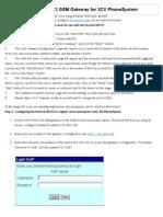 Configuring Portech 372 GSM Gateway for 3CX PhoneSystem