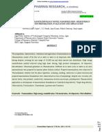 Pharmaceutical Nanotechnology Novel Nanoemulsion High Energy