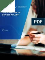 Sind Sales Tax Act, 2011