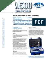 LCM500 Brochure