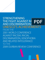 Durban 2009 Strengthening the Figth Against Racis and Discrimination