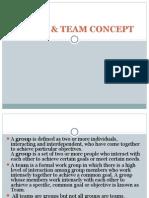 Group & Team Concept