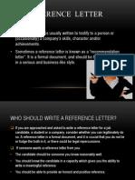 Employee Relation Letter