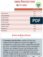 Consumer Protection Act1956