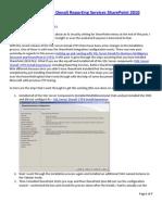 Denglishbi Config SQL Denali SSRS SharePoint Integration