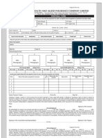 Combined Proposal Form Healthgain