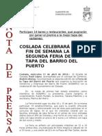 1204011 NP- Feria de La Tapa Del Barrio Del Puerto
