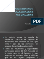 Volumenes y Capacidades Pulmonares