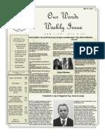 Newsletter Volume 4 Issue 10