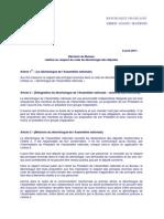 Decision Bureau Deontologie