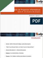 08 GPI_El Alcance Del Proyecto