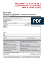 QPRT Application Form 0311