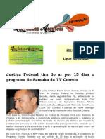 Justiça Federal tira do ar por 15 dias o programa do Samuka da TV Correio