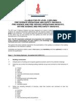 2012 IFE L3 Diploma Syllabus