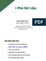 L2-Gioi Thieu WEKA
