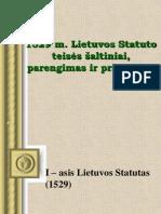 3 i Statutas