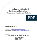 Biomass Energy Utilization