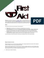 First Aid Gaurav