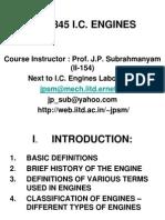 MEL345 Course Content 2007-08-2nd Sem