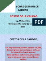 Gestion de Calidad Costos Calidad 2009