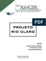 Projeto Rio Claro Tutorial ArcGis
