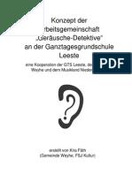 SoundScape Niedersachsen - Konzept Weyhe