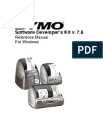 DYMO Label Software SDK Manual