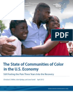 The State of Communities of Color in the U.S. Economy