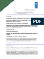 undp-consultant-communication