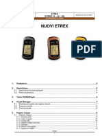 Considerazioni Utillizzo ETREX 30 Rev01
