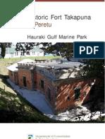 Fort Takapuna Hgmp May 2001
