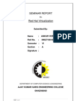 Seminar Report RedHat Virtualization