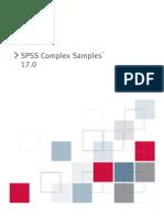SPSS Complex Samples 17.0