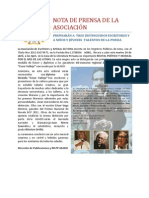 AEADO Nota de Prensa