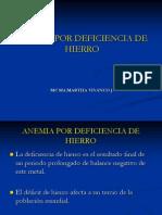 (5) Anemia Por Deficiencia de Hierro