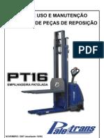Manual Uso Pecas Pt16 - Empilhadeira
