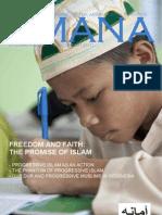 AMANA Magazine Vol 5 Issue 3 - Freedom & Faith