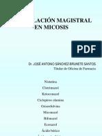 Formulación Magistral en Micosis