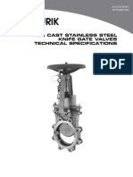 DeZURIK KCG Knife Gate Valves