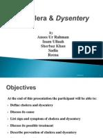 Cholera & Dysentery
