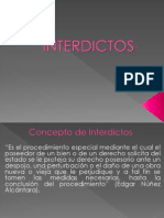 Los Interdictos