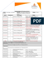 Cronograma GestPublica 1a Serie 2012-1 TER QUI