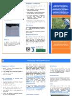 certificacion pesticidas MDRAD