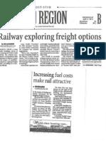 Railway Exploring Freight Options