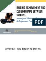 Raising Achievement-ClosingGaps
